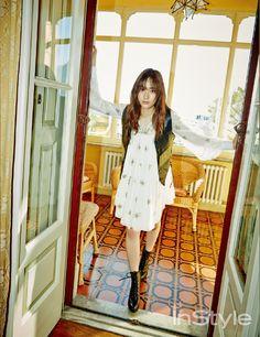 f(x) Krystal - InStyle Magazine January Issue '15