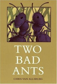 Two Bad Ants by Chris Van Allsburg. The three-time Caldecott medalist tells the tale of two ants who decide to leave the safety of the others to venture into a danger-laden kitchen. Reading Skills, Teaching Reading, Reading Strategies, Comprehension Strategies, Teaching Ideas, Reading Comprehension, Reading Lessons, Reading Resources, Student Teaching