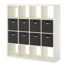 Kallax shelf unit with 8 inserts white kallax shelf unit kallax shelf and ikea kallax - Kallax regal weiay ...