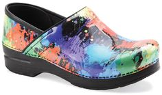 Dansko Paint Splatter. I NEED these in my life. Can't wait for the day when I get to buy my first Danskos:)
