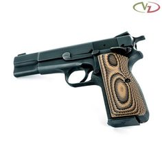 HP Palm Swell VZ 320 Hyena Brown G10 Cz 75, Hyena, Hand Guns, Palm, Brown, Firearms, Pistols, Chocolates, Hand Prints