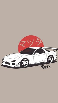 Cars motorcycles background Ideas for 2019 Tuner Cars, Jdm Cars, Wallpaper Carros, Ps Wallpaper, Japanese Sports Cars, Mc Laren, Drifting Cars, Car Illustration, Japan Cars