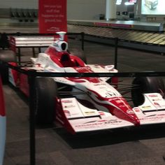 A great way to remind people that Toronto hosts a premiere open wheel race. Place a car in the arrivals area at Pearson Airport