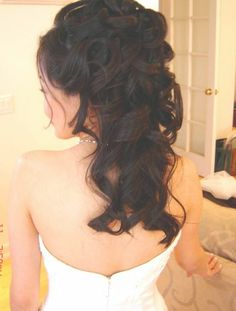 Image Detail for - Bridal hairstyles for long hair half pictures 2