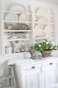 White ... Kitchen ... FROM: VIBEKE DESIGN