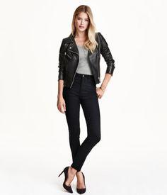 $24.99 Slim-Fit High Waist Pants, Multiple colors | H&M US
