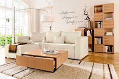 Marier le bois dans le salon! 20 idées inspirantes…