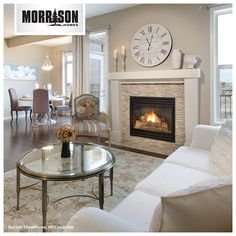 Decorating above a fireplace can be tricky! Who loves this oversized, roman numeral clock - or would you leave it?