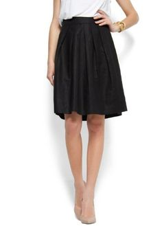 Mango Women`s Full Linen Cotton Skirt