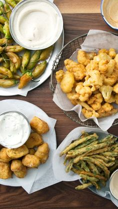 Dip these fried morsels in various sauces for some seriously addicting finger food.