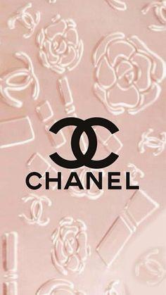 Chanel logo Pink iPhone wallpaper