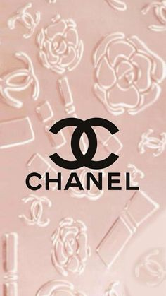 Chanel logo Pink iPhone wallpaper