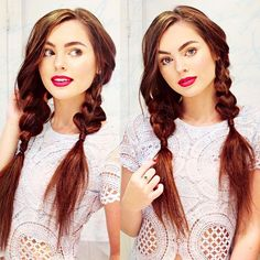 25 Cool Pigtails Hairstyles From Dutch And French Braid Pigtails regarding sizing 1080 X 1080 Cute Pigtail Hairstyles - Are you looking to take a look at Side Swept Hairstyles, Pigtail Hairstyles, No Heat Hairstyles, Pigtail Braids, Little Girl Hairstyles, Hairstyles For School, Braided Hairstyles, Cool Hairstyles, Hairstyle Ideas