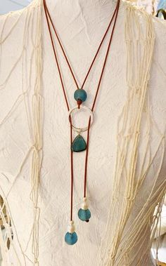 """Circles Around Me"" www.AllisonCraftD… copyright ACD ""Circles Around Me"" www. Wire Wrapped Jewelry, Wire Jewelry, Jewelry Crafts, Beaded Jewelry, Jewlery, Handmade Leather Jewelry, Leather Craft, Homemade Jewelry, Bijoux Diy"
