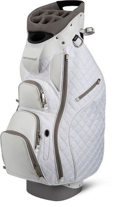 Sun Mountain Ladies Diva Cart Golf Bag - White   Gray I really like this. 1f0af22452f75