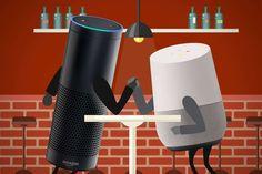 Voilà plusieurs mois maintenant qu'on ne cesse de vous parler de Google Home par-ci ou Amazon Alexa par là. Des produits compatibles pour l'un ou l'autre, voir les deux. Mais lequel choisir?   C'est en effet une question que l'on peut se poser, car l'achat de vos objets connectés peut en d... https://www.planet-sansfil.com/test-faut-acheter-google-home-a-noel-attendre-sortie-damazon-echo/ Amazon Echo, Bluetooth, Google Home, sans fil, Wi-Fi, WiFi, Wir