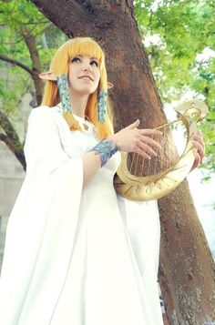 Legend of Zelda Skyward Sword Zelda Cosplay:  THIS is literally...LITERALLY the best SS Zelda cosplay I've ever seen XD