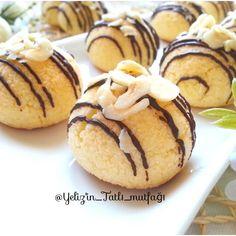 4 malzeme ile kurabiye Cake Mix Cookie Recipes, Cake Mix Cookies, Cupcake Recipes, Healthy Gluten Free Recipes, Healthy Desserts, Baseball Desserts, Biscuit Cake, Cheesecake Cookies, Turkish Recipes