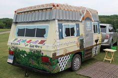 Cute house on wheels too.
