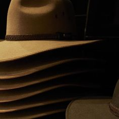 2e0cde5c4b9 Beautiful pile of hats   michaelwickham  Akubra  Hat  Style Akubra Hats