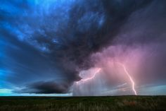 Aurora II - Another image from this gorgeous little supercell near Aurora, Colorado on June 3rd, 2015. Photography by Mike Olbinski