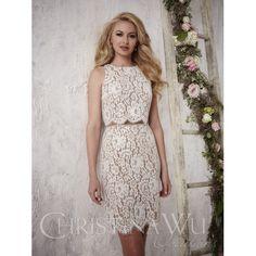 Christina Wu Bridesmaid Dress 22696