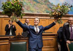 Neu-Bundesrat 20-Sept Ignazio Cassis, Tessin FDP / Arzt / 56 Royals, Switzerland, Royal Families