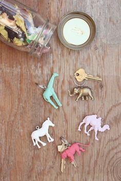diy-animal-keychains