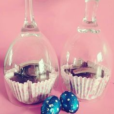 Try covering your cupcakes with wine glasses . It gives them a little more class and look great as decorations on the table.