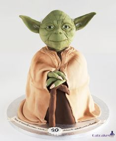 Yoda cake - Cake by CatcakesMadrid