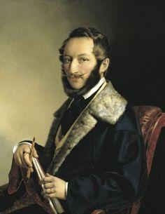 Barabás Miklós önarckép (1841)