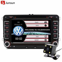 "7"" 2 din Car DVD GPS radio player for Volkswagen VW golf 5 6 touran passat B6 sharan jetta polo tiguan with free gift"