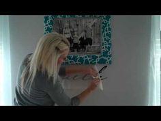 Applying Wall Vinyl -- tips from Erin at @DCWV Inc.
