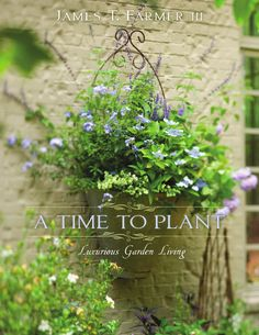 A Time to Plant by James T. Farmer III,  Love This wall Planter