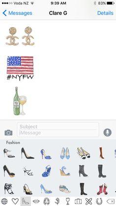 FashPack app New York Fashion week message