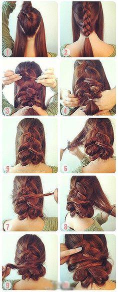 get my hair did.