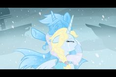 I always thought that Elsa and them would have to be earth ponies or pegasi because then if she was a unicorn it wouldn't be very surprising that she can do magic. If she was a pegasi or an earth pony she could, like, do magic with her hooves.