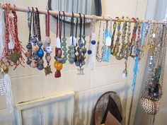 African necklaces at the Maison de l'Afrique Montreal boutique - www.AwayFromAfrica.com