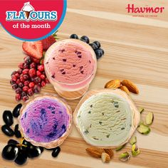 Presenting a vibrant & eclectic range of our latest Flavours of the Month! Don't you just want to #KeepCalmAndHavmor?
