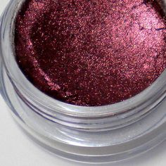Pomegranate Mineral Eyeshadow Pigment - Vegan Friendly Mineral Makeup - 5 Gram Jar with Sifter - On Sale. $6.00, via Etsy.