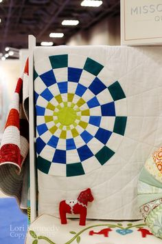 Missouri Star Quilt Company booth, Spring 2015 Quilt Market.  Photo by The Inbox Jaunt.