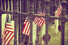 American Flags Outdoor Photography Old by WendyValentinePhotos on Etsy.