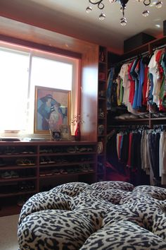 Spare Bedroom turned into a Beautiful Dressing Room by California Closets!