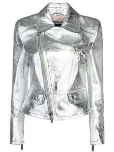 Кожаная куртка - косуха от DSQUARED2