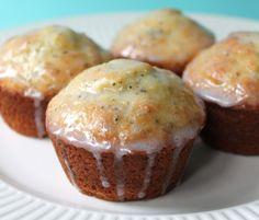 Lemon Poppyseed muffins  1.25 Whole wheat and .75 white Increase moisture.  More lemon.