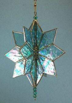 Stained Glass Ornaments, Stained Glass Christmas, Stained Glass Suncatchers, Stained Glass Designs, Stained Glass Panels, Stained Glass Projects, Stained Glass Patterns, Leaded Glass, Stained Glass Art