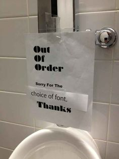 The sign that rightly apologized. | The 28 Greatest Moments In The History Of Sarcasm