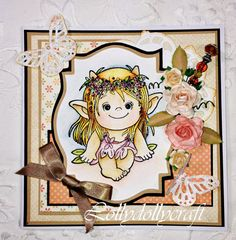 Handmade Card Toread Image by Lollydollycrafts on Etsy, £5.00