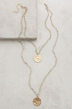 Oloron Layered Necklace #anthropologie #anthroregistry