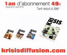 #RevueKrisis en vente sur http://krisisdiffusion.com #Krisis #KrisisDiffusion…
